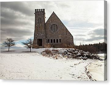 Old Stone Church Canvas Print by Sue OConnor