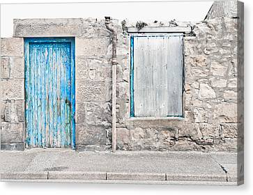 Old Stone Cottage Canvas Print by Tom Gowanlock