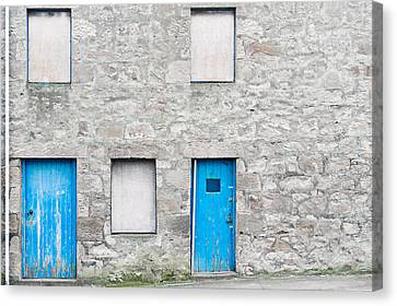 Old Stone House Canvas Print by Tom Gowanlock