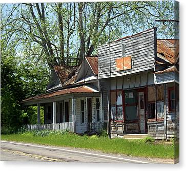 Old Store Canvas Print by Marty Koch