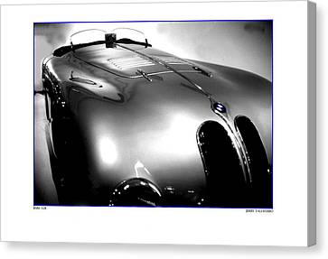 Old Style Speed Canvas Print by Jerry Taliaferro