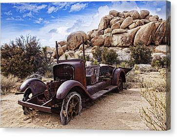 Old Tin Canvas Print by Wendy White