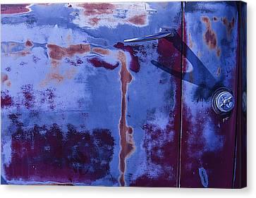 Old Truck Door Canvas Print by Garry Gay