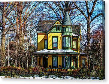 Old Vic Canvas Print by Carl Miller