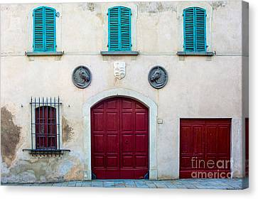 Old Villa Stables Canvas Print by Prints of Italy