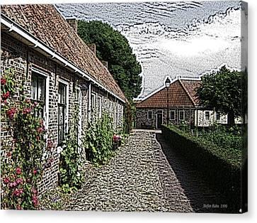 Old Village Canvas Print by Stefan Kuhn