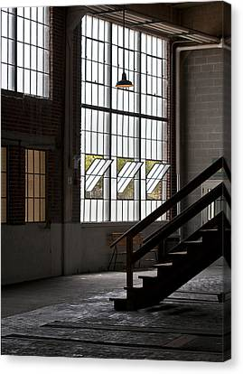 Old Warehouse Canvas Print by Wilma  Birdwell