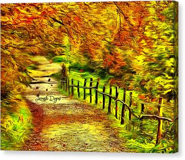 Old Way - Da Canvas Print by Leonardo Digenio