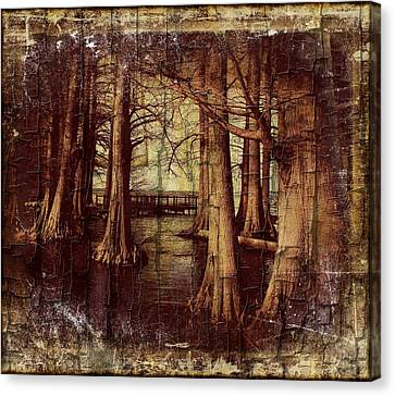Old World Reelfoot Lake Canvas Print by Julie Dant