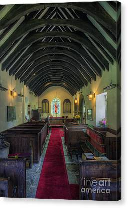 Olde Lamp Church Canvas Print by Ian Mitchell