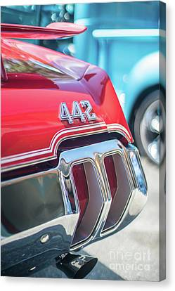 Olds 442 Classic Car Canvas Print by Mike Reid