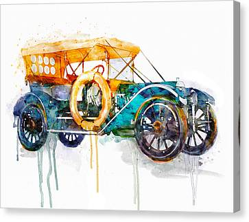 Oldsmobile  Canvas Print by Marian Voicu