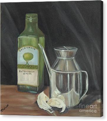Olive Oil Canvas Print by Isabel Honkonen