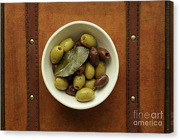 Olives 1 Canvas Print by Edward Fielding