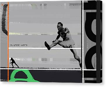 Olympic Wars Canvas Print by Naxart Studio