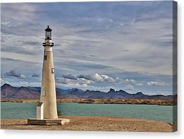 On A Cloudy Day Canvas Print by Debra Souter