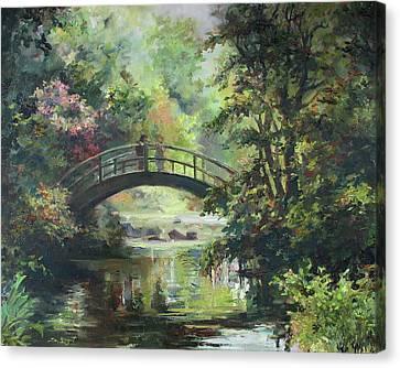 On The Bridge Canvas Print by Tigran Ghulyan