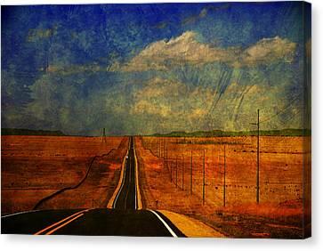 On The Road Again Canvas Print by Susanne Van Hulst