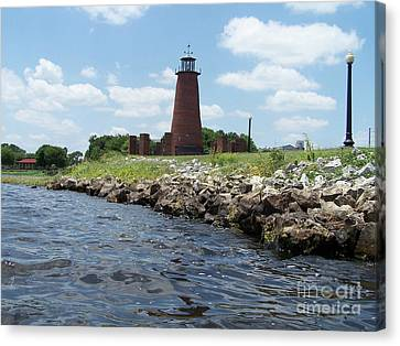 On The Rocks Canvas Print by Jack Norton