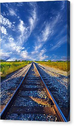 On The Way Canvas Print by Phil Koch