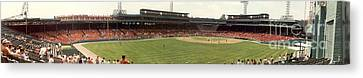 Once Upon A Fenway Canvas Print by David Bearden