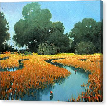 One Fine Dish Canvas Print by Kevin Lawrence Leveque