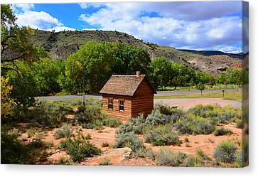 One Room School House  Canvas Print by David Lee Thompson