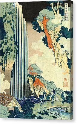Ono Falls 1833 Canvas Print by Padre Art