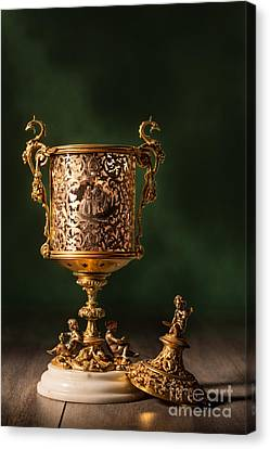 Open Chalice Canvas Print by Amanda Elwell