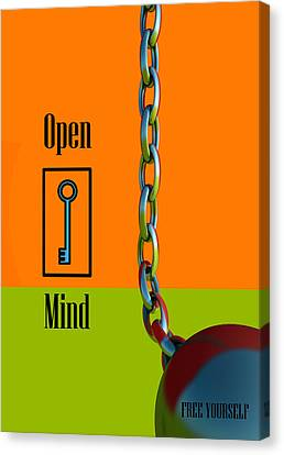 Open Mind Canvas Print by Richard Rizzo