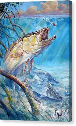 Open Season Canvas Print by Tom Dauria