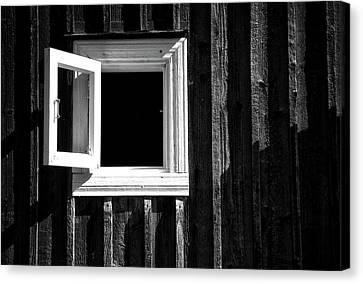 Open Window Canvas Print by Mona Eendra