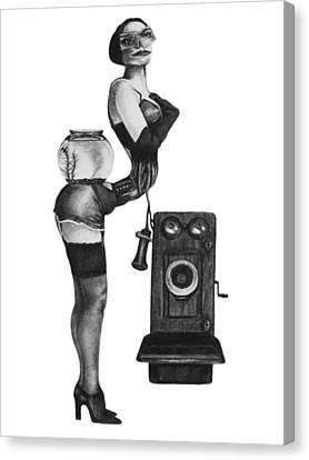 Operator Canvas Print by Phil Spaulding