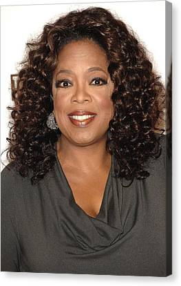 Oprah Winfrey At Arrivals For The Canvas Print by Everett