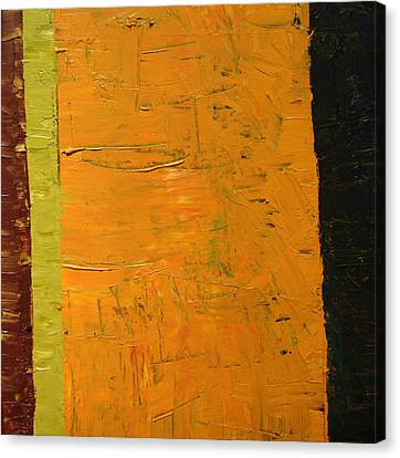 Orange And Brown Canvas Print by Michelle Calkins