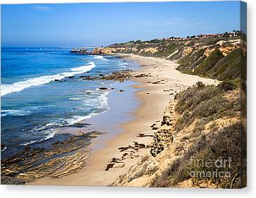 Orange County California Canvas Print by Paul Velgos