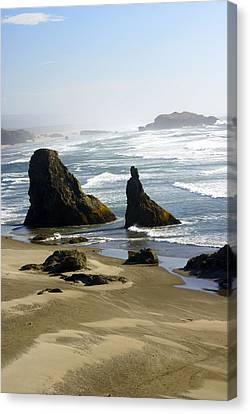Oregon Coast 19 Canvas Print by Marty Koch