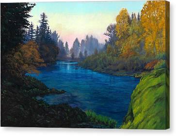Oregon Santiam Landscape Canvas Print by Michael Orwick