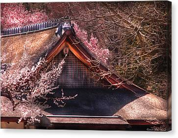 Orient - Shofuso House Canvas Print by Mike Savad