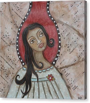 Orifiel Canvas Print by Rain Ririn