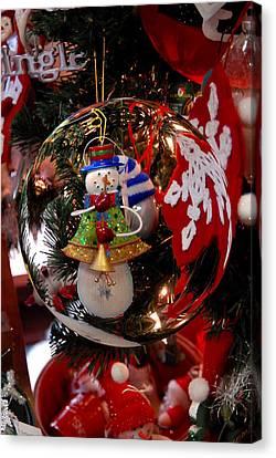 Ornament 1 Canvas Print by Joyce StJames