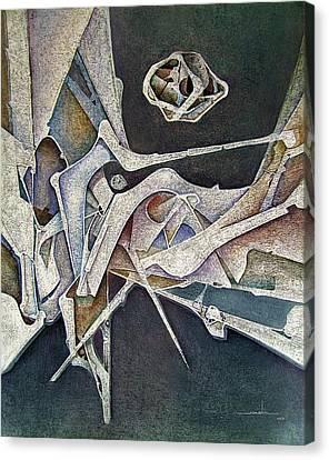 Os1974ny007 Silver Age 16x20 Canvas Print by Alfredo Da Silva