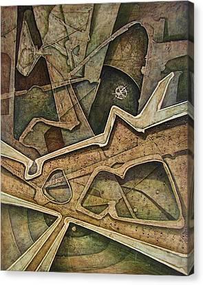 Os1974ny009 Simbol Of The Indian American 16x20 Canvas Print by Alfredo Da Silva