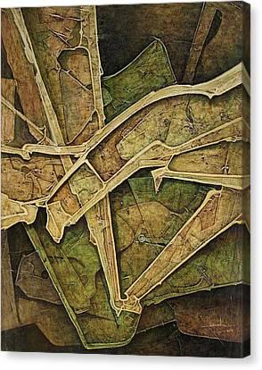 Os1974ny010 Esplendid Forms 16x20 Canvas Print by Alfredo Da Silva