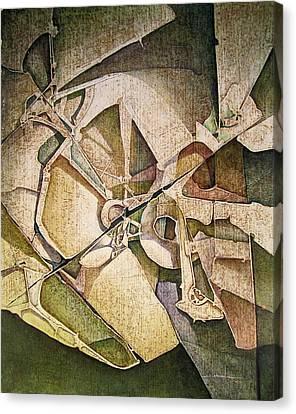 Os1974ny011 The Triumph Of The Light 16x20 Canvas Print by Alfredo Da Silva