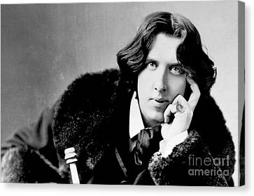Oscar Wilde Canvas Print by Reproductions