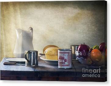 Our Daily Bread Canvas Print by Priscilla Burgers