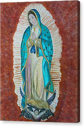 Our Lady Of Guadalupe Canvas Print by Kerri Ligatich