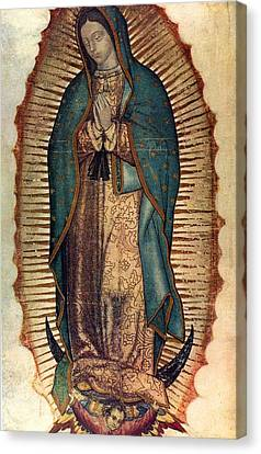 Our Lady Of Guadalupe Canvas Print by Pam Neilands