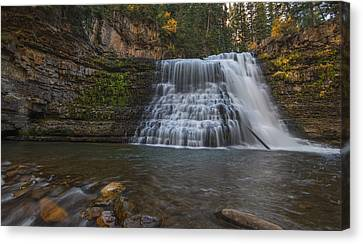 Ousel Falls Canvas Print by Loree Johnson